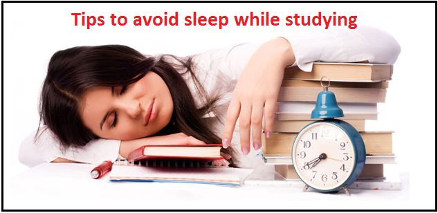 10 Most effective tips for students to avoid sleep while studying