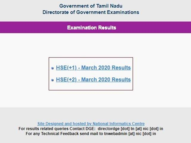 TN Plus One Results 2020