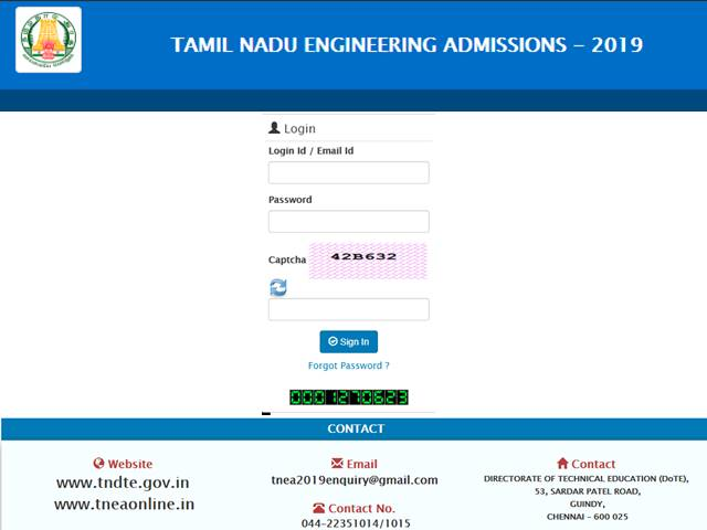 TNEA Allotment Result 2019 Declared for 4th Round, Get