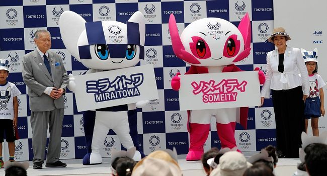 tokyo olympic mascot