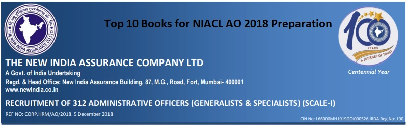 top 10 books for niacl ao exam