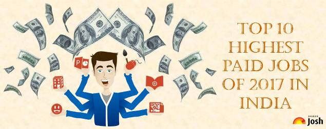 Highest paid jobs are in India