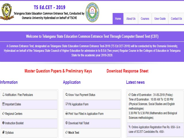 TS Ed CET Results 2019 Delayed: Results to be released on June 19