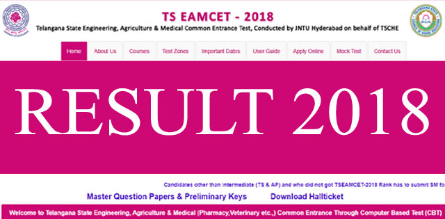 TS EAMCET Result 2018: Manabadi TS EAMCET Result To Be Declared Today @ eamcet.tsche.ac.in