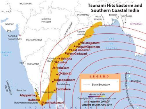tsunami indira point