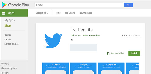 twitter light launched in india