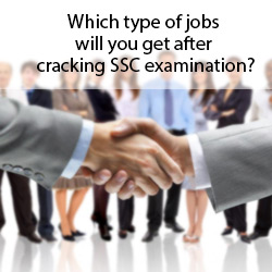 Which type of jobs will you get after cracking SSC examination