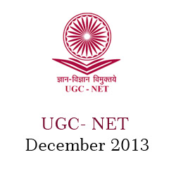 UGC NET December 2013 Notification
