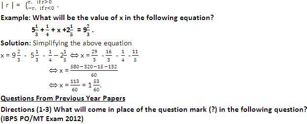 IBPS PO Exam: Quantitative Aptitude: Simplification and ...