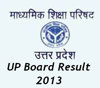 UP Board Result 2013
