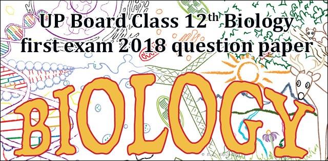 Up board class 12 biology first question paper biology first question paper 2018 malvernweather Gallery