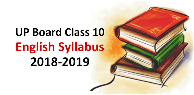 UP Board Class 10th English Syllabus