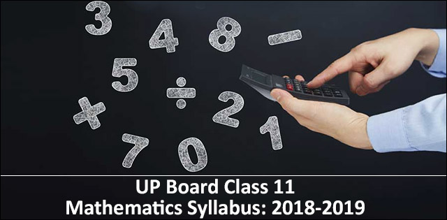 Class 11th Mathematics Syllabus