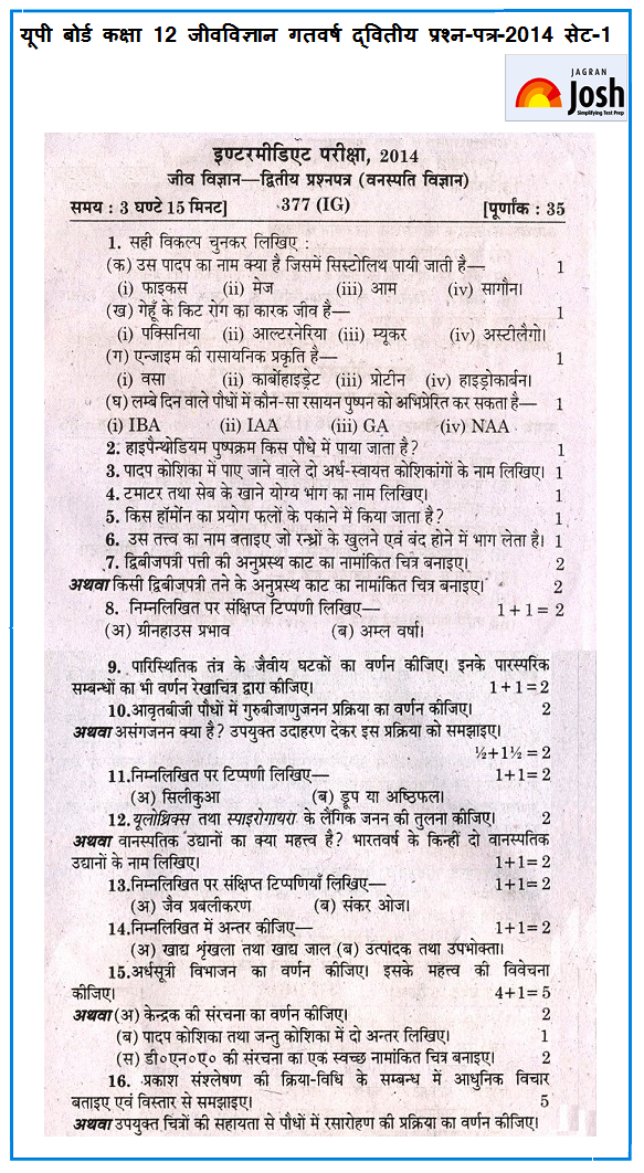 Up board class 12 biology second unsolved question paper set 1 up board class 12 biology second unsolved question paper set 1 2014 malvernweather Image collections