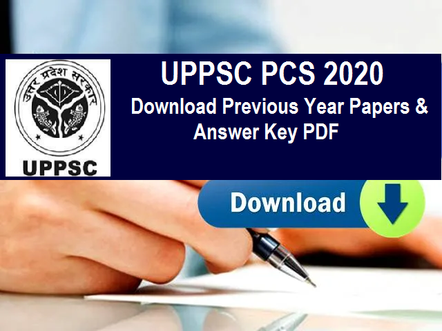 UPPSC Previous Year Papers