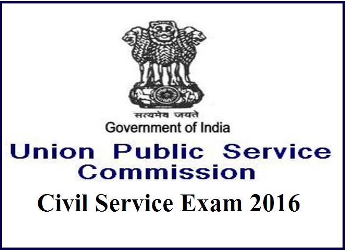 upsc ias exam 2016