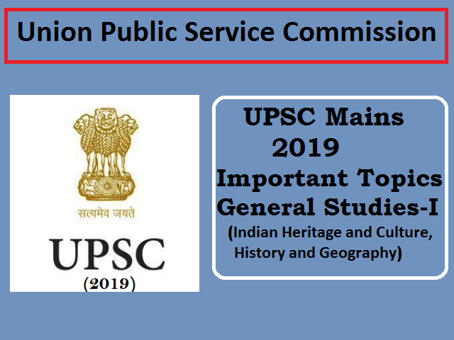 UPSC IAS Mains Exam from 20 September: Important Topics of