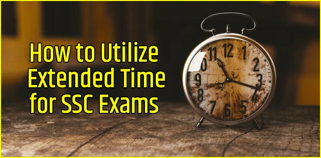 Time management for SSC Exams