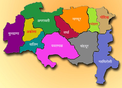 vidarbha map