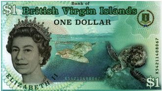 virgin british island currency