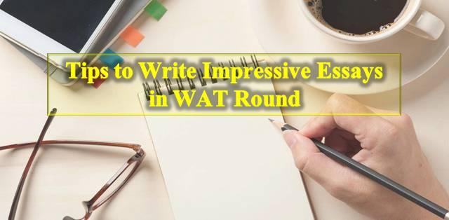 essays designed for iim wat