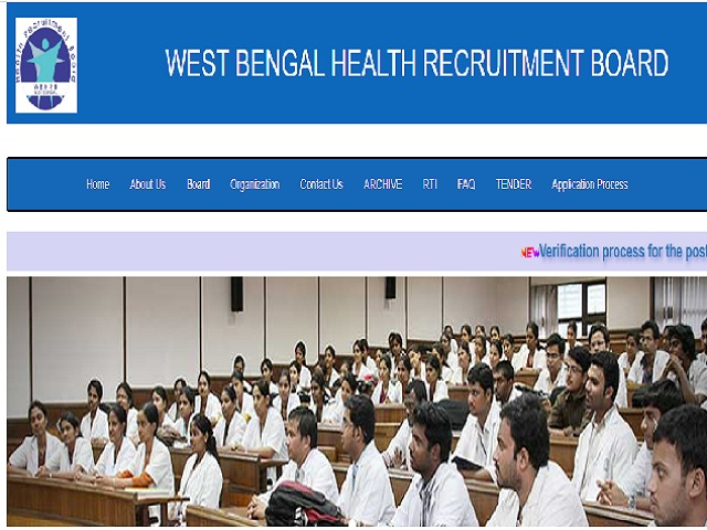 WBHRB Recruitment 2020 for 62 Assistant Professor Posts, Apply Online @wbhrb.in from 12 Oct