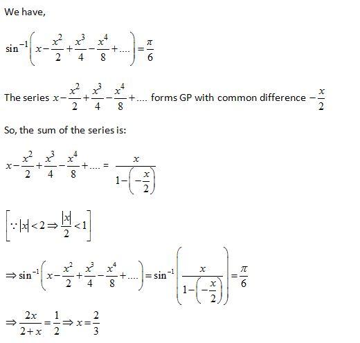 WBJEE Inverse Trigonometric Functions S2