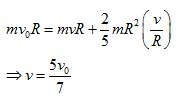 WBJEE Rotational Motion solution 2