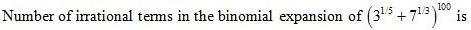 WBJEE Binomial Theorem Question(4)