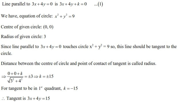 WBJEE Circles Solution 1