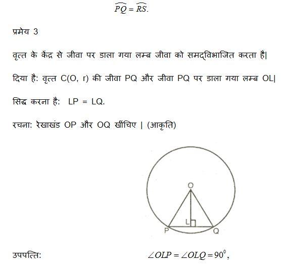 third derivation, circle