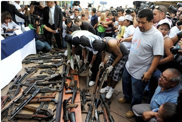 weapons in latin america