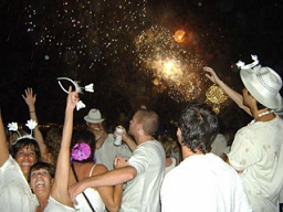 wear all white clothes on New Years Eve