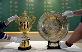 wimbledon open trophy