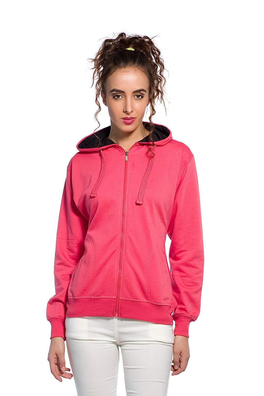 Women Sweatshirt pink color