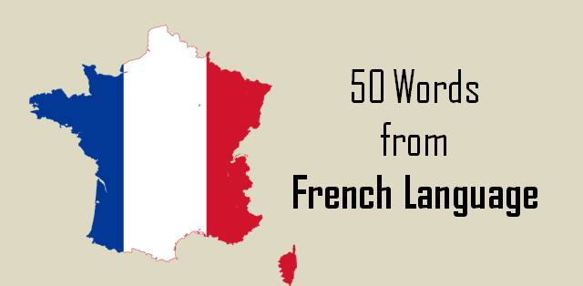 MBA Verbal Ability 50 French words