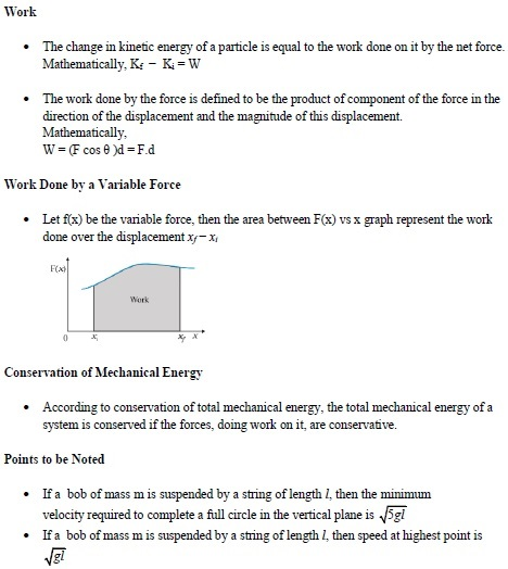 UPSEE work power and energy important concepts 1