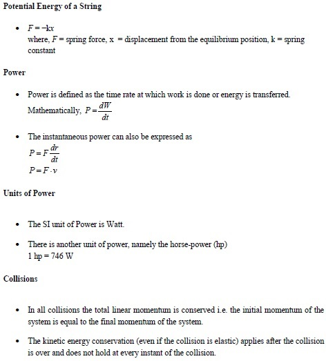 WBJEE work, power and energy concetps 2