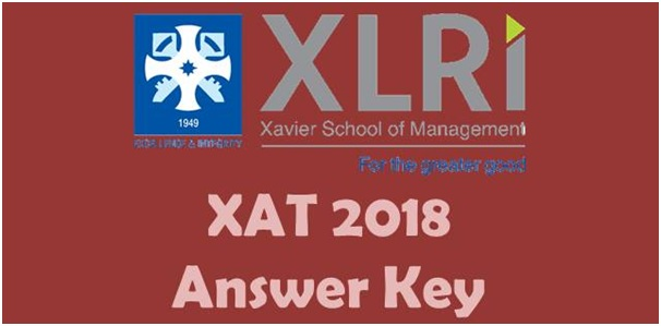 XAT 2018 Answer Key