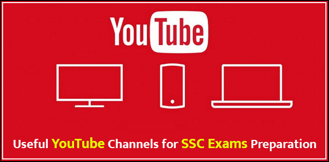 Best youtube channels for SSC exams preparation