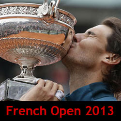 French Open Tennis Tournament 2013