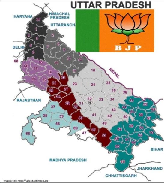 BJP wins the Asselmbly Election of Uttar Pradesh