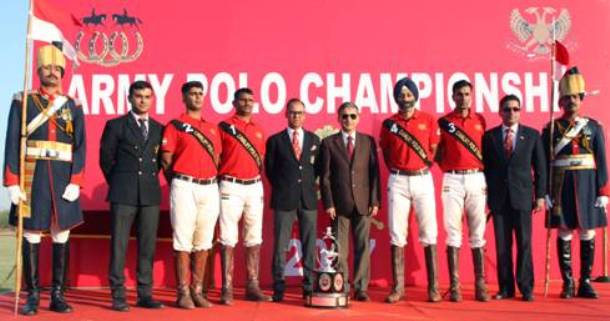 61 CAVALRY bagged the Army Polo Championship