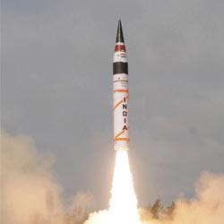 Agni-II missile