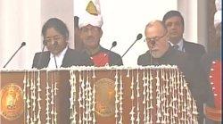 Anil Baijal takes oath as Delhi Lieutenant Governor