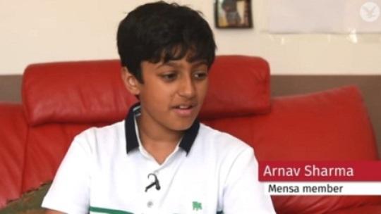 Indian-origin boy Arnav Sharma gets 162 IQ points, more than Einstein and Hawking