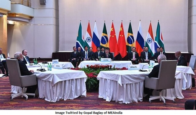 Informal BRICS Leaders Meeting in Hamburg=