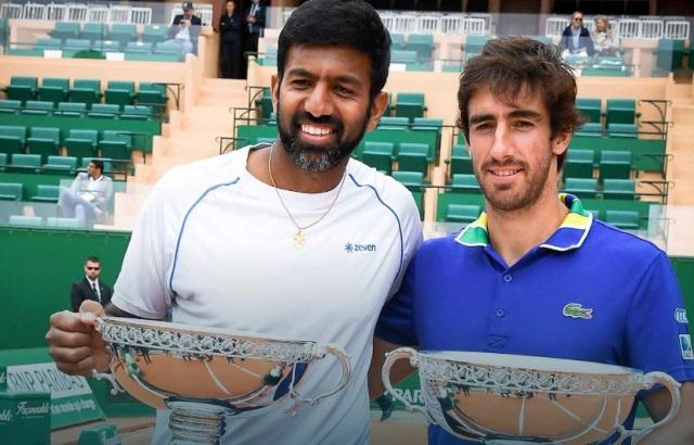 Rohan Bopanna and Pablo Cuevas won Monte-Carlo Masters