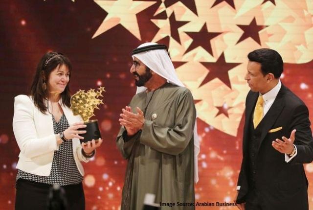 Canadian wins Global Teacher Prize