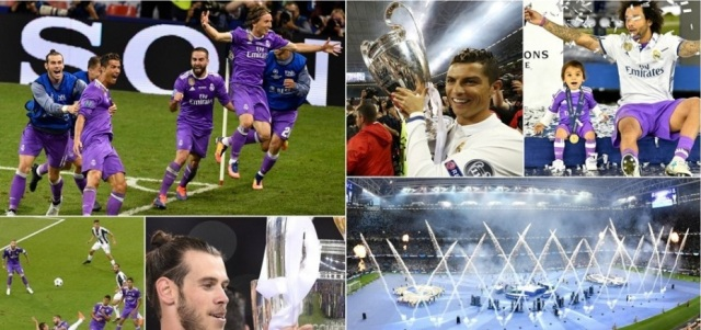 Real Madrid becomes first team to win back-to-back Champions League titles